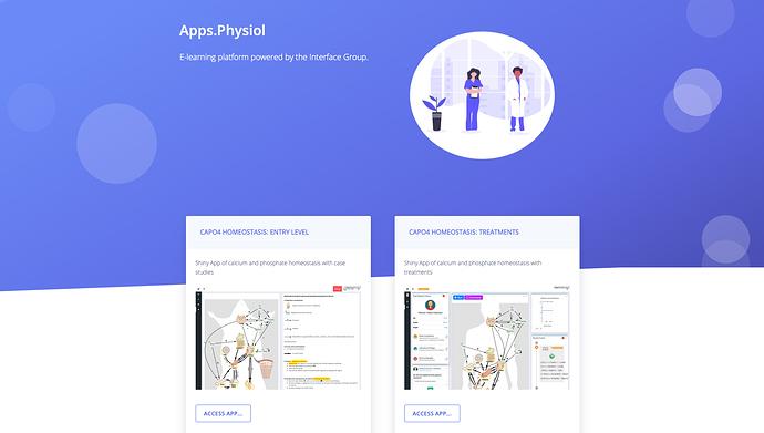 Fig1: Apps.Physiol platform