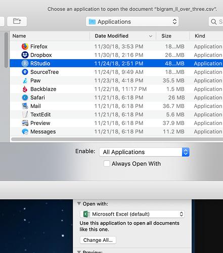 Mac choose application enable all applications