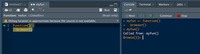 screenshot function view