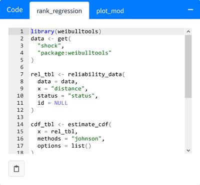 rank-regression-code