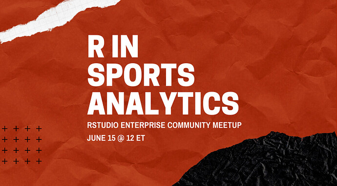R in Sports Analytics