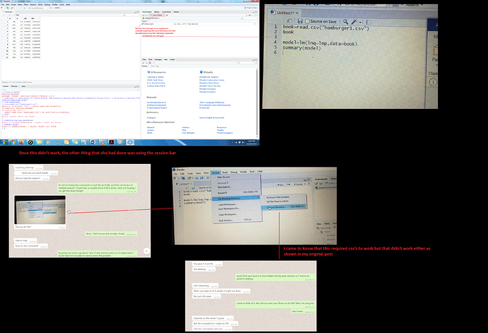 Issue with R-studio3