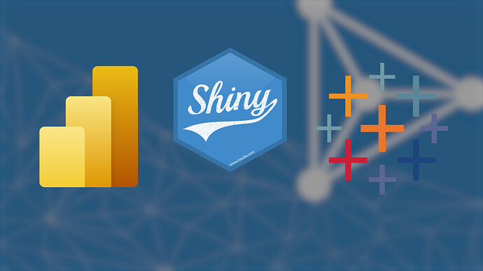 Comparing Shiny, Tableau, and PowerBI