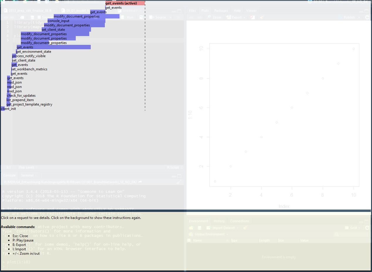 RStudio suddenly slow processing - RStudio IDE - RStudio