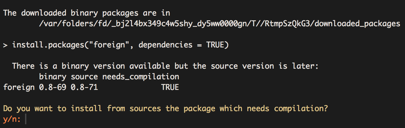 Package R Code