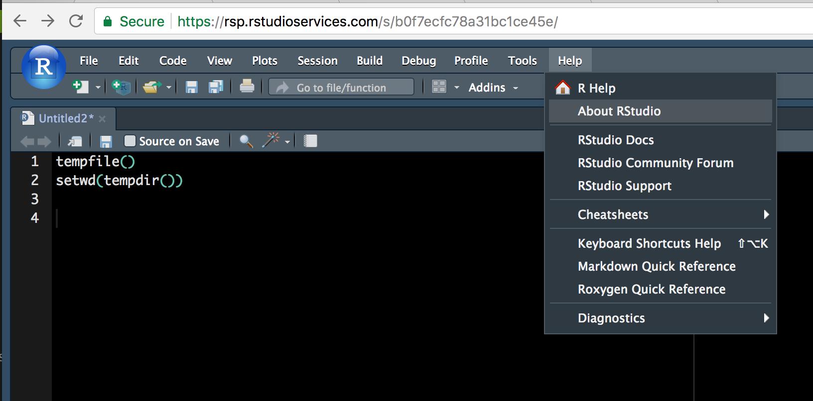 Finding out my rstudio server version on my ubuntu - RStudio