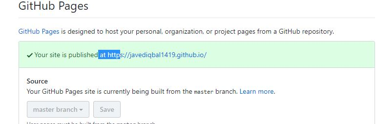 Blogdown site not showing on git hub page - R Markdown