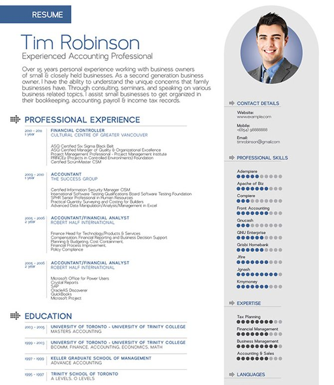 How Can I Use A Latex Tex Cv Resume Template For