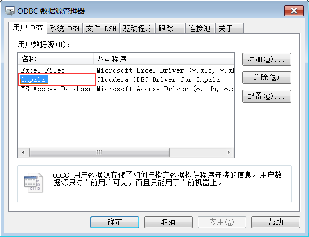 How to use RStudio Preview 1 2 to connect the ODBC driver for Impala