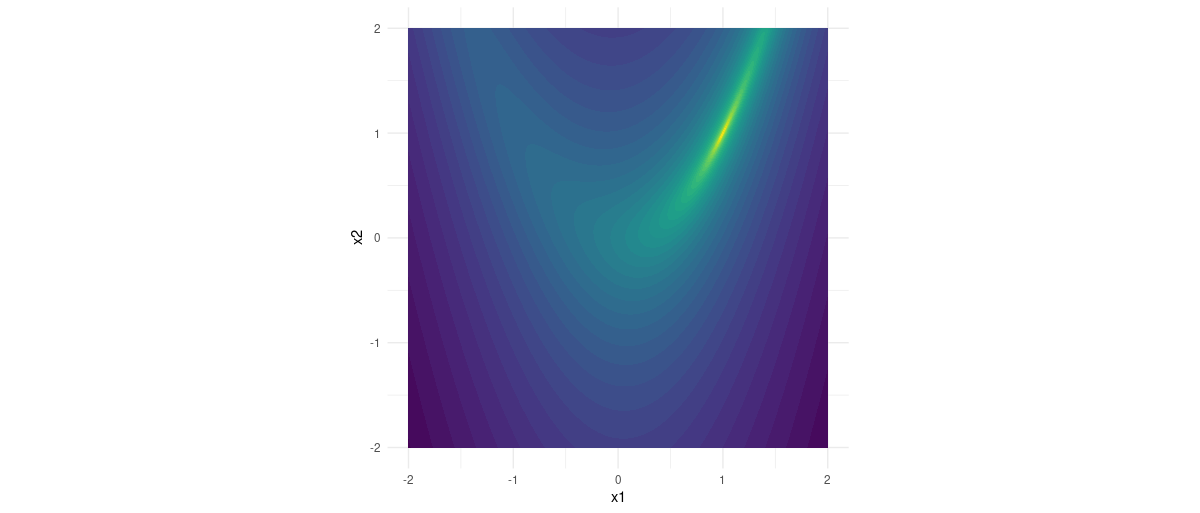 Rosenbrock function.