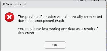 model running on cloud error