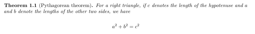 A theorem with the knitr's engine